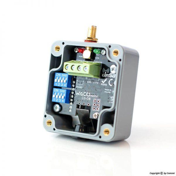 Bezprzewodowe przekaźniki, sterowania PTZ i telemetria RS485/232