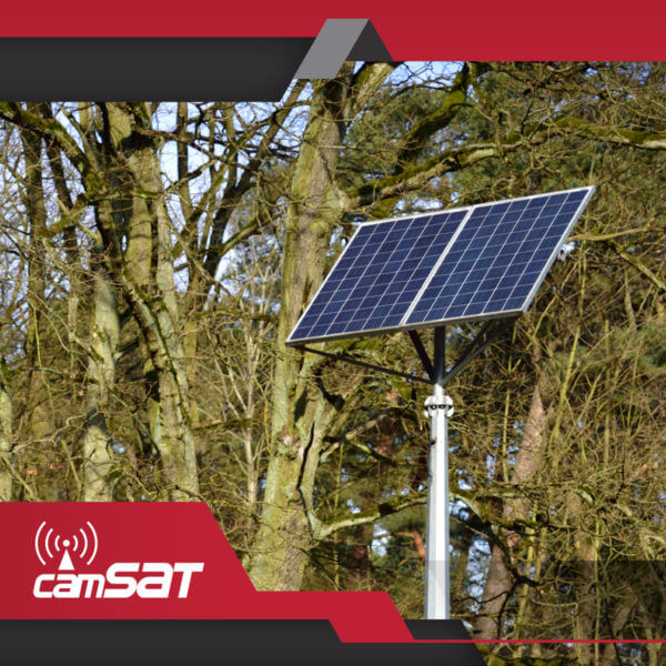 Zasilanie solarne i akumulatorowe do kamer CCTV