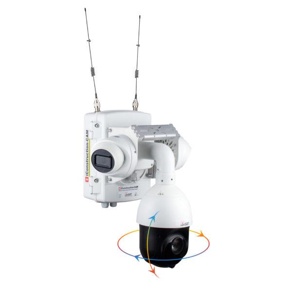 Kamery do zdalnego monitorowania prac budowlanych - iConstructionCAM
