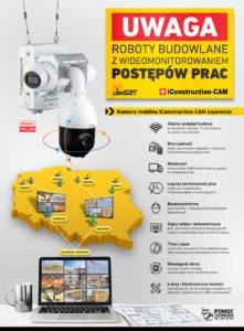 Murator kamery CAMSAT - jak monitorować prace budowlane