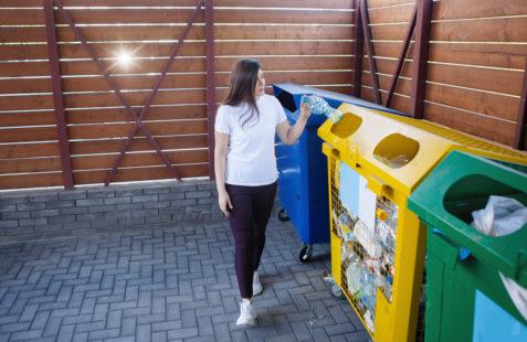 video monitoring of waste segregation