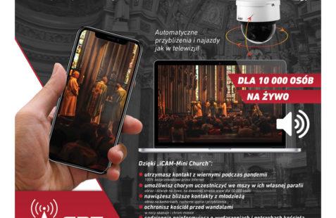 iCAM-Mini CHURCH - msza na żywo przez www KW