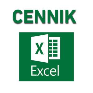 Cennik Excel